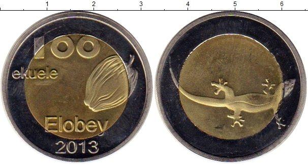 Картинка Монеты Элобей 100 экуэле Биметалл 2013