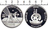 Изображение Монеты Вануату 10 вату 2009 Серебро Proof