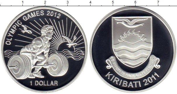 Картинка Монеты Кирибати 1 доллар Серебро 2011