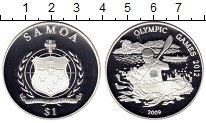 Изображение Монеты Самоа 1 доллар 2009 Серебро Proof