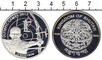 Изображение Монеты Бутан 10 нгултрум 2010 Серебро Proof