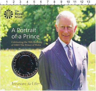 Изображение Подарочные монеты Великобритания 5 фунтов 2018 Медно-никель BUNC