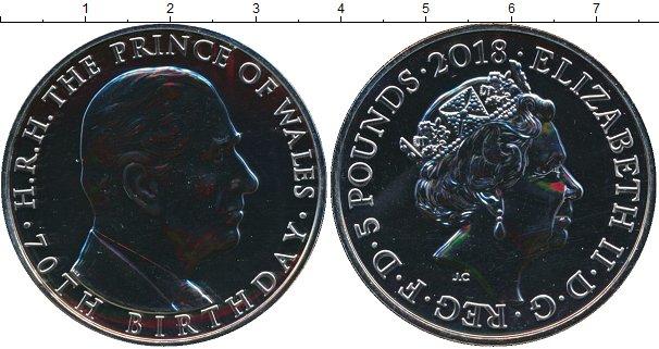Картинка Подарочные монеты Великобритания 5 фунтов Медно-никель 2018