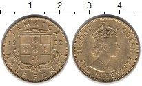 Изображение Монеты Ямайка 1/2 пенни 1962 Латунь XF