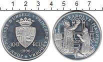 Изображение Монеты Андорра 10 динерс 1996 Серебро Proof-