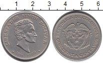 Изображение Монеты Колумбия 50 сентаво 1960 Медно-никель XF