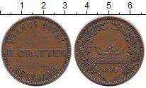 Изображение Монеты Новая Зеландия 1 пенни 1872 Медь XF