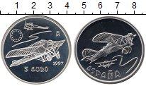 Изображение Монеты Испания 5 евро 1997 Серебро Proof