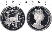 Изображение Монеты Великобритания Остров Мэн 1 крона 2000 Серебро Proof
