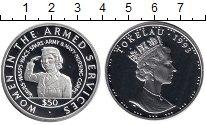 Монета Токелау 50 долларов Серебро 1993 Proof фото