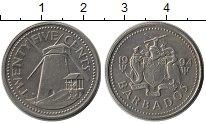 Изображение Монеты Барбадос 25 центов 1994 Медно-никель XF