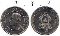 Изображение Монеты Гондурас 20 сентаво 1978 Медно-никель UNC