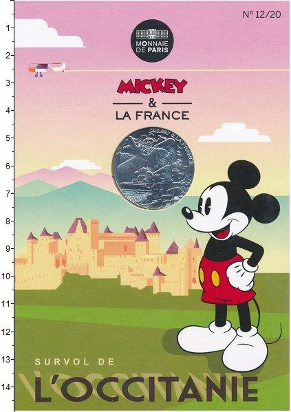 Монета Франция 10 евро Серебро 2018 UNC фото