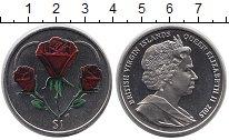 Монета Виргинские острова 1 доллар Медно-никель 2015 UNC фото