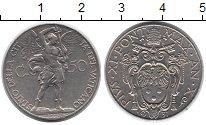 Изображение Монеты Ватикан 50 сентим 1931 Медно-никель XF