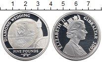 Изображение Монеты Гибралтар 5 фунтов 2007 Серебро Proof