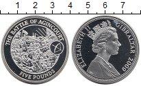 Изображение Монеты Великобритания Гибралтар 5 фунтов 2009 Серебро Proof-