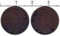 Изображение Монеты Пруссия 1 пфенниг 1857 Медь VF
