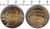 Изображение Монеты Нидерланды 2 лиден 2006 Биметалл UNC-