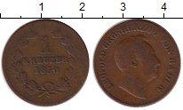 Изображение Монеты Баден 1 крейцер 1850 Медь VF