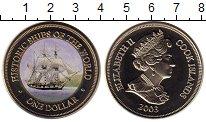 Изображение Мелочь Новая Зеландия Острова Кука 1 доллар 2003 Медно-никель UNC-