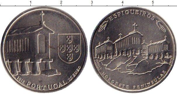Картинка Мелочь Португалия 2 1/2 евро Медно-никель 2018