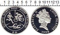 Изображение Монеты Острова Кука 25 долларов 1998 Серебро Proof-