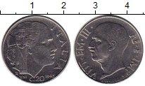 Изображение Монеты Италия 20 сентесим 1943 Медно-никель UNC-