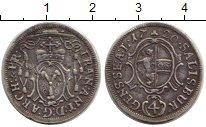 Изображение Монеты Германия Зальцбург 4 крейцера 1720 Серебро XF