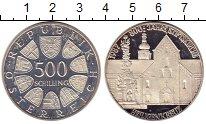 Изображение Монеты Австрия 500 шиллингов 1987 Серебро Proof-