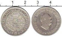 Изображение Монеты Германия Ганновер 1/6 талера 1834 Серебро VF