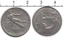 Изображение Монеты Италия 20 сентесим 1912 Медно-никель XF-