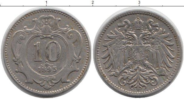 Картинка Монеты Австрия 10 геллеров Медно-никель 1895