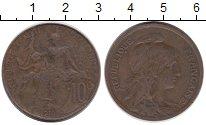 Изображение Монеты Франция 10 сантим 1916 Бронза VF