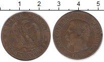 Изображение Монеты Франция 5 сантим 1857 Бронза VF