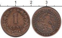 Изображение Монеты Нидерланды 1 цент 1882 Бронза VF