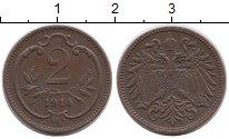 Изображение Монеты Австрия 2 геллера 1914 Бронза VF