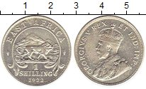 Изображение Монеты Великобритания Восточная Африка 1 шиллинг 1922 Серебро VF