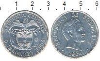 Изображение Монеты Колумбия 50 сентаво 1934 Серебро XF