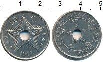 Изображение Монеты Бельгийское Конго 20 сантим 1911 Медно-никель XF