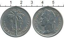Изображение Монеты Бельгия Бельгийское Конго 1 франк 1929 Медно-никель XF