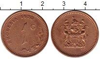 Изображение Монеты Великобритания Родезия 1 цент 1970 Бронза XF