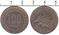 Изображение Монеты Камерун 100 франков 1972 Медно-никель XF