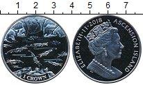 Монета Остров Вознесения 1 крона Медно-никель 2018 UNC фото