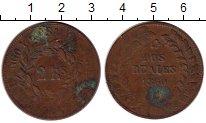 Изображение Монеты Аргентина 2 реала 1860 Медь VF+