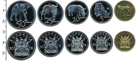 Изображение Наборы монет Родезия Набор 2018 года 2018  UNC UNUSUAL. Монеты с из