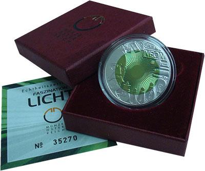 Изображение Подарочные монеты Австрия 25 евро 2008 Серебро Proof