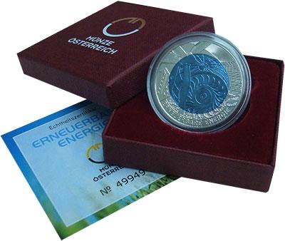 Изображение Подарочные монеты Австрия 25 евро 2010 Серебро Proof
