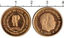Изображение Монеты Кот-д`Ивуар 10 франков 1966 Золото Proof-