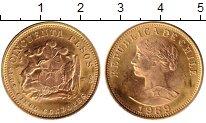 Изображение Монеты Чили 50 песо 1969 Золото UNC